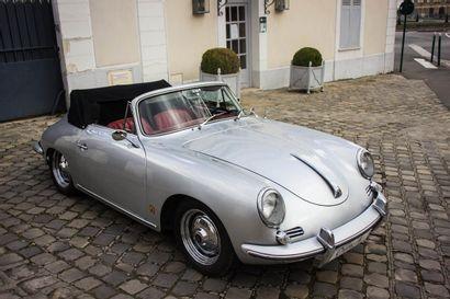 1960 PORSCHE 356 BT5 1600 S CABRIOLET Numéro de série 153737  Numéro moteur 700153...