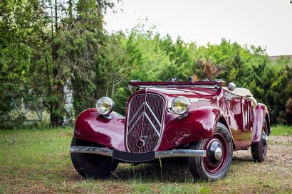 1937 Citroën Traction 7C Cabriolet