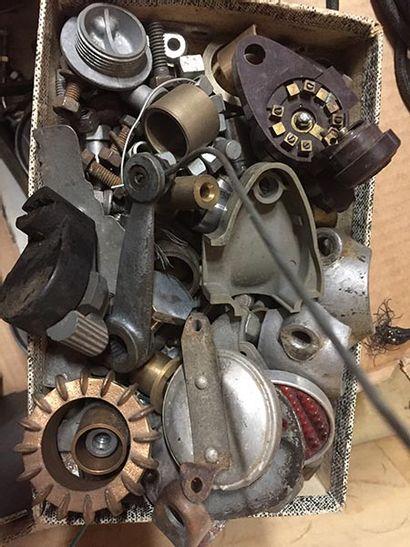 C1936 MOTOBECANE 350 S C44C Serial number 38386259 c1936-1939 with French title T44C...