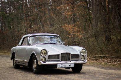 1960 FACEL-VEGA FACELLIA CABRIOLET