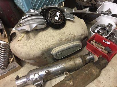 C1936 MOTOBECANE SUPER CULASSE Lot of two Motobecane  Super Cylinder Head 500 Type...