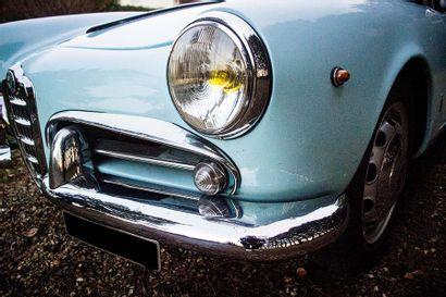 1961 ALFA-ROMEO GIULIETTA SPIDER Type 750  Serial number 169005  Good condition of...