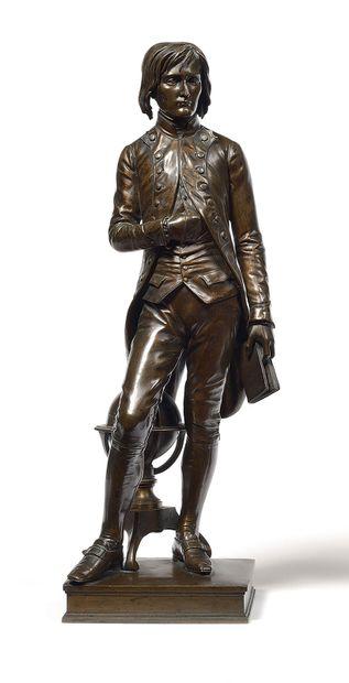 Louis ROCHET (1813-1877) Bonaparte à Brienne...