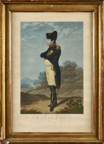 . Ecole Allemande du XIXe siècle Napoléon,...