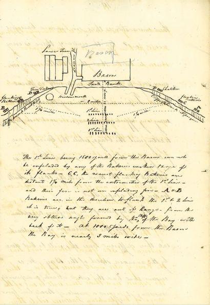 CAMP DE BOULOGNE. – CONGREVE (William). Manuscrit...