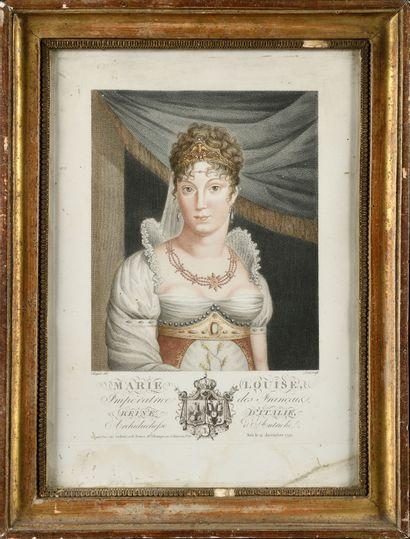 CHOQUET, d'après Marie Louise d'Autriche....
