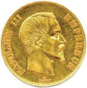 NAPOLÉON III 1852-1870 100 Francs or (tête...