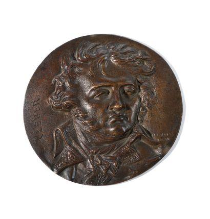 DAVIS d'ANGERS, d'après. « Kleber » en buste...