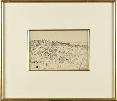 Robert Henri PINCHON (1889-?) St Honoré Dessin...