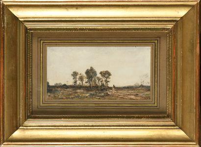 Auguste Clément Joseph HERST (1825-?) Chemin...