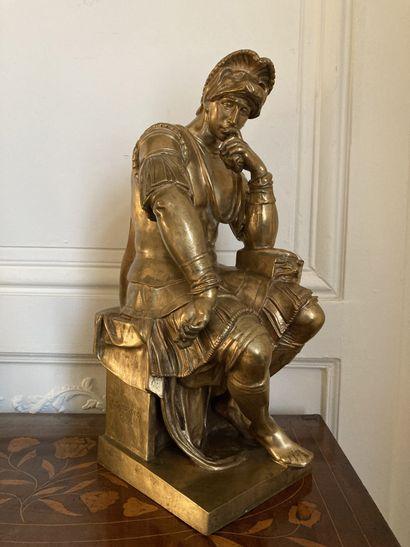 ECOLE FRANÇAISE du XIXe siècle, d'après Michel-Ange...