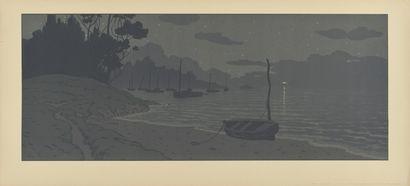 HENRI RIVIERE (1864-1951) La Nuit. 1902....