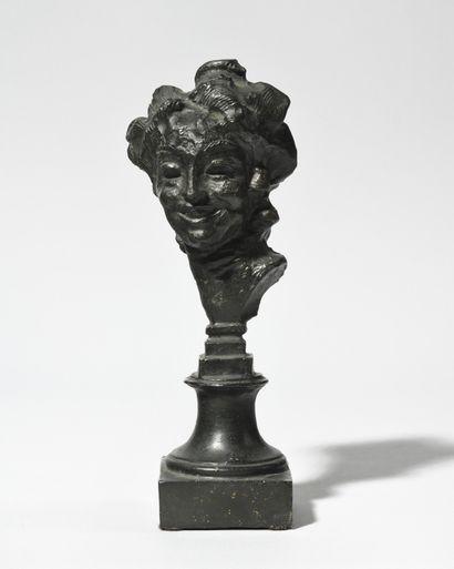 ÉMILE ANTOINE BOURDELLE (1861-1929) Tête...