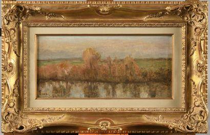 MAXIMILIEN LUCE (1858-1941) Les bords de...