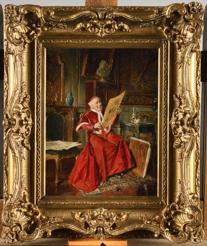 BERNARD LOUIS BORIONE (1865-1920) Le cardinal...