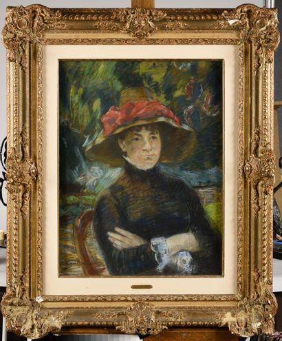 ARMAND GUILLAUMIN (1841-1927) Portrait de...