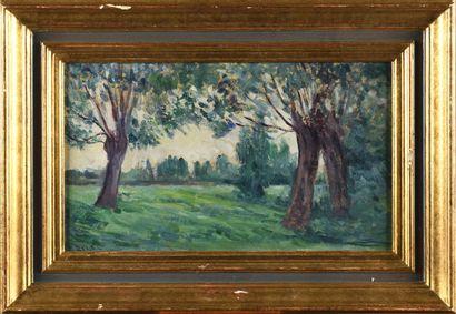 MAXIMILIEN LUCE (1858-1941) Bessy-sur-Cure,...