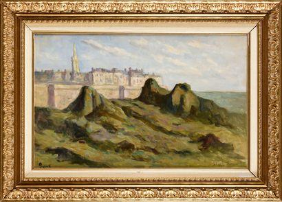 MAXIMILIEN LUCE (1858-1941) Saint-Malo, les...