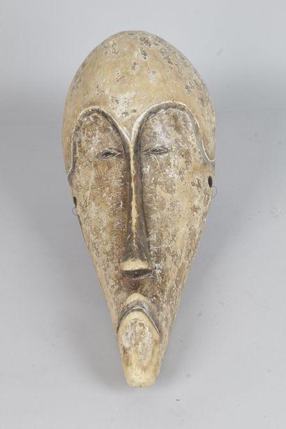 Masque de cérémonie de style FANG, Gabon....