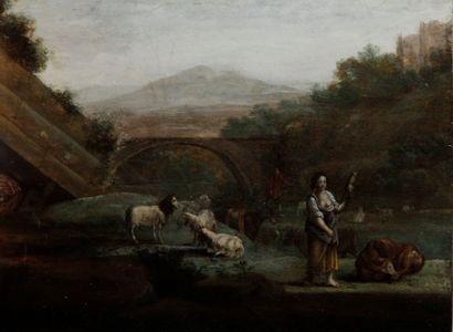 ÉCOLE FRANÇAISE, de la fin du XVIII siècle...