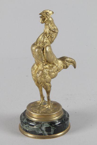 Emmanuel FRÉMIET (1824-1910) « le coq chantant...