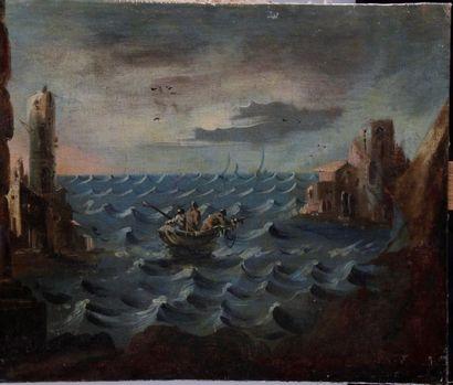 ÉCOLE ITALIENNE, du début du XVIII siècle....