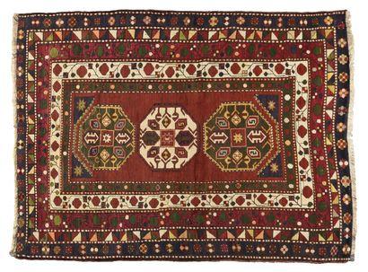 Kazak Lori- pambak (Caucase) Velours en laine...