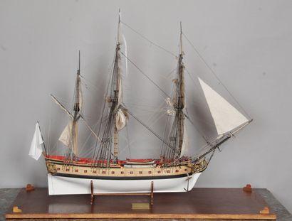 FRÉGATE LA FLORE 1784 DITE « L'AMÉRICAINE...