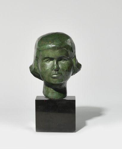 NOOR-ZADE BRENER (Née en 1922) Tête de jeune...