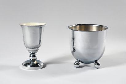DANS LE GOUT DES ANNEES 1930 Lampe de table...