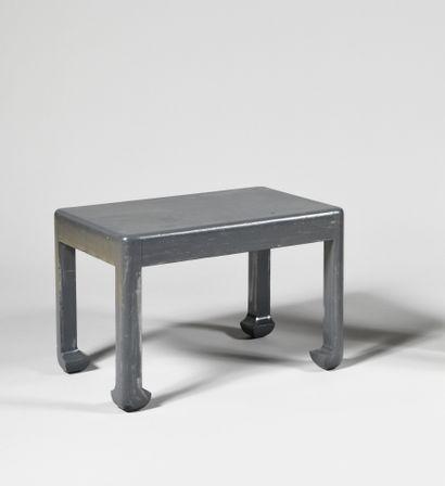 ATELIER MARTINE Table basse à plateau rectangulaire...
