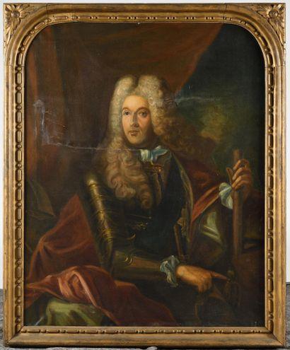 DANS LE GOUT du XVIIIe siècle Portrait d'homme...