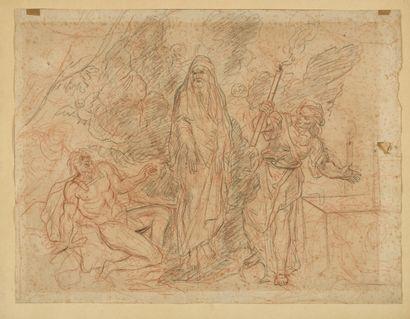 Antoine COYPEL (1661-1722) L'ombre de Saül...