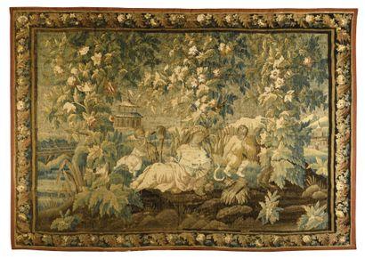 Importante tapisserie de FELETIN (France)...