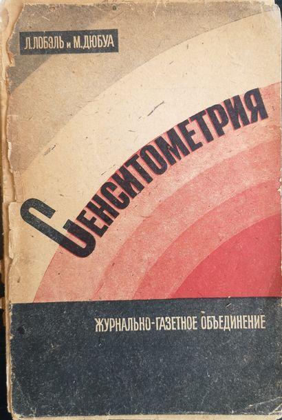 [CONSTRUCTIVISM]  Lubelle L., Dubois M. Sensitometrie/dessin...