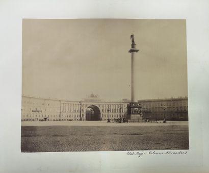 ALBUM DES PHOTOS DES VUES DE SAINT-PETERSBOURG.  I.Daziaro, Moscou, Saint-Pétersbourg....