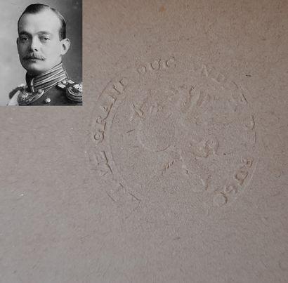 DICTIONNAIRE FRANCO-RUSSE. Makarov N. Ed. Glisman, Berlin. 1924. In-8. Porte un...