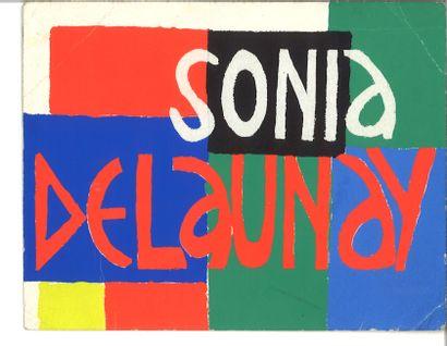 DELAUNAY SONIA (1885-1979)  Carte de vœux...