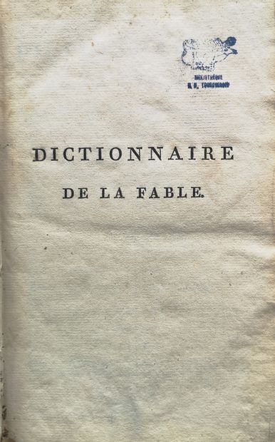 [FROM THE LIBRARY OF NICOLAS TOUROVEROFF]...