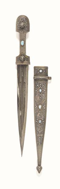 POIGNARD(Kindjal, caucasien dagger) Avec...
