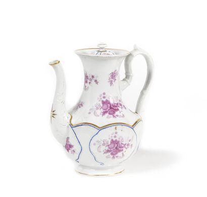 THEIERE  Porcelaine peinte  Manufacture impériale...