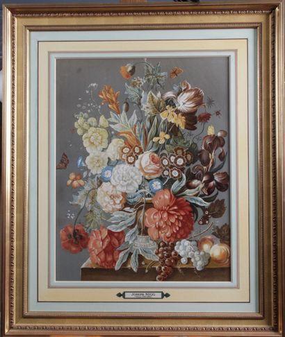 D'après Joseph NIGG (1782-1863) « Vase de...
