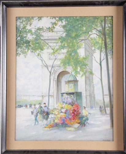 ISIDORE ROSENSTOCK (1880 – 1956) « Marchande...