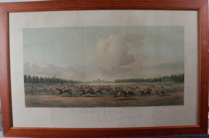 D'après MILLS PRIX ROYAL, 5/9/1824 Gravure...