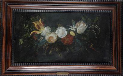 D'après Daniel Seghers.Composition florale,...