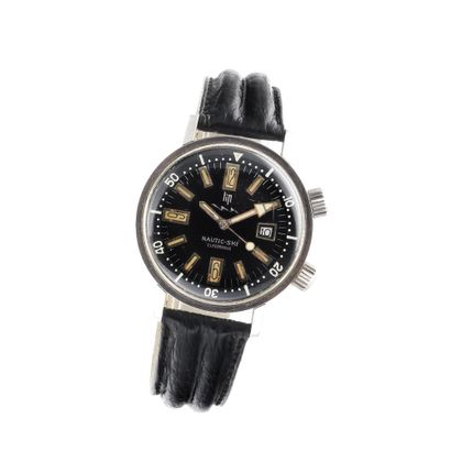 LIP Nautic-Ski Vers 1970. Montre bracelet...