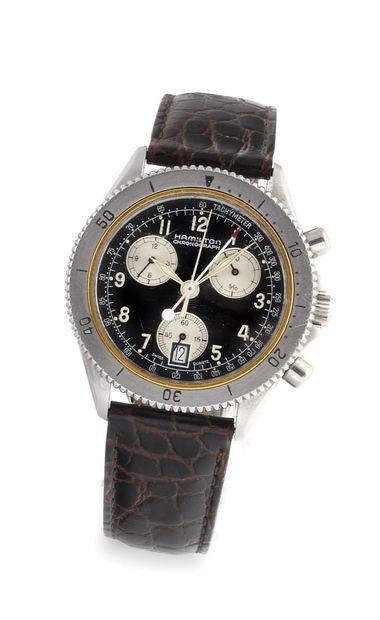 HAMILTON Chronograph Vers 2000. Réf: 8802....