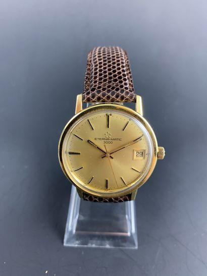 ETERNA-MATIC 3000 Vers 1960. Montre bracelet...