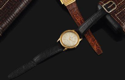 BREITLING Automatic Vers 1960. Réf: 250925 / 64282. Montre bracelet en or jaune...