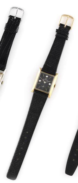 WITTNAUER Vers 1950. Réf : 4044577/2360-9WN. Montre bracelet en or jaune plaqué...